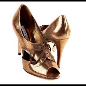 🎉 ANNE KLEIN BRONZE/GOLD PUMPS 🎉